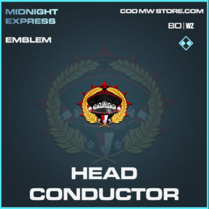 head conductor emblem in Black Ops Cold War and Warzone