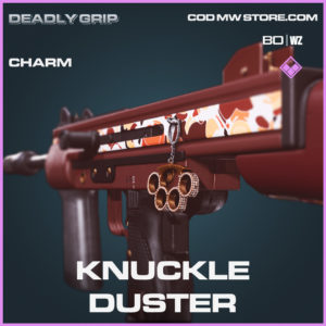 Knuckle Duster Charm Deadly Grip in Black Ops Cold War and Warzone