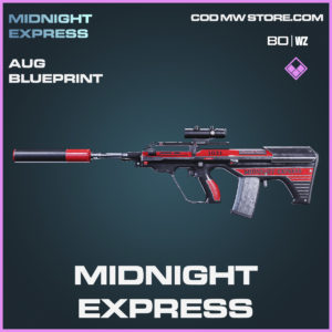 midnight-express AUG blueprint skin in Black Ops Cold War and Warzone