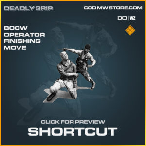 shortcut bocw operator finishing move Deadly Grip in Black Ops Cold War and Warzone