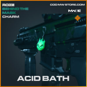 Acid Bath charm in Modern Warfare and Warzone