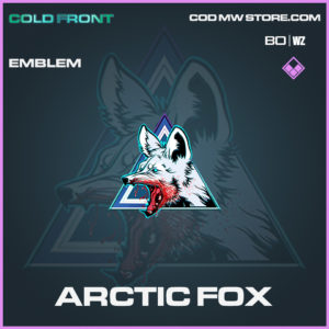Arctic Fox Emblem in Black Ops Cold War and Warzone