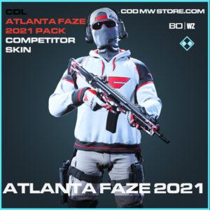 Atlanta Faze 2021 Competitor Skin Alternate in Black Ops Cold War and Warzone