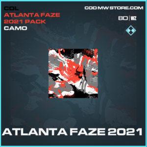 Atlanta Faze 2021 camo in Black Ops Cold War and Warzone