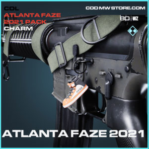 Atlanta Faze 2021 charm in Black Ops Cold War and Warzone