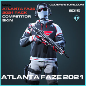 Atlanta Faze 2021 Competitor Skin Primary in Black Ops Cold War and Warzone