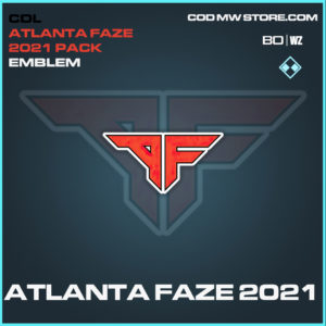 Atlanta Faze 2021 emblem in Black Ops Cold War and Warzone