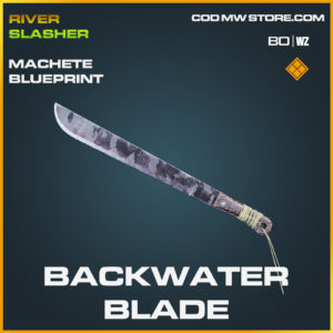Backwater Blade Machete blueprint skin in Cold War and Warzone
