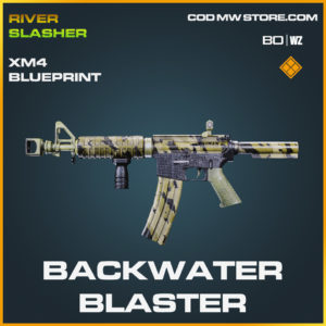 Backwater blaster XM4 blueprint skin in Cold War and Warzone