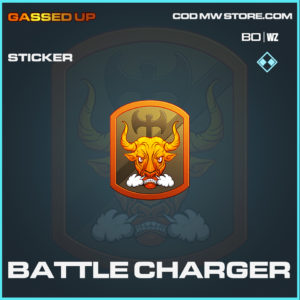 Battle Charger sticker in Black Ops Cold War and Warzone