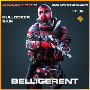 Belligerent Bulldozer skin in Black Ops Cold War and Warzone