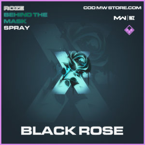 Black Rose spray in Modern Warfare and Warzone