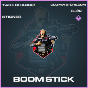 Boom Stick sticker in Cold War and Warzone