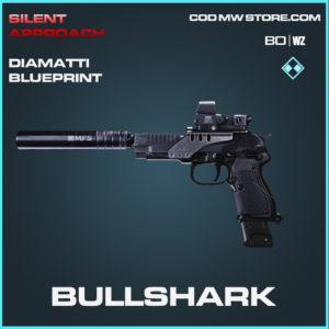 Bullshark Diamatti blueprint skin in Cold War and Warzone