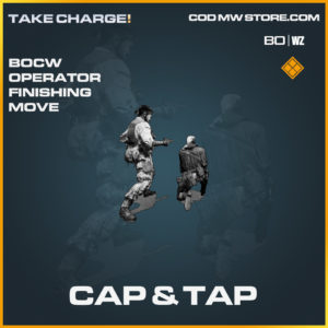 Cap & tap operator finishing move in Cold War and Warzone