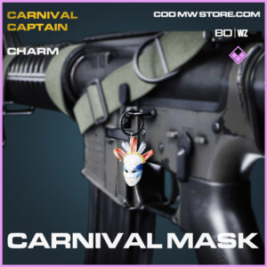 Carnival Mask charm in Black Ops Cold War and Warzone