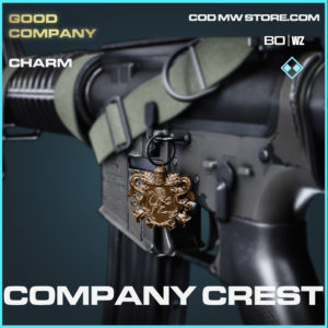 Company Crest charm in black ops cold war and warzone