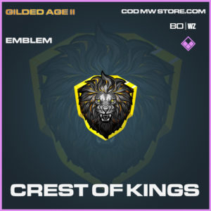 crest of kings emblem in Cold War and Warzone