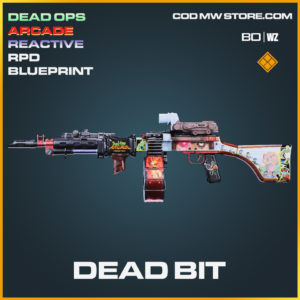 Dead Bit RPD blueprint skin in Cold War and Warzone