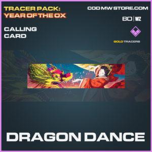 Dragon Dance calling card in Black Ops Cold War and Warzone