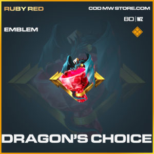 Dragon's Choice emblem in Cold War and Warzone