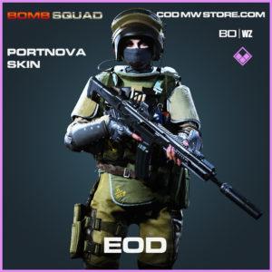 EOD Portnova Skin in Cold War and Warzone
