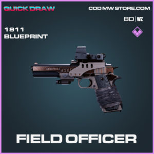 Field Officer 1911 blueprint skin in Black Ops Cold War and Warzone