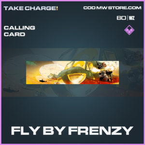 Fly By Frenzy calling card in Cold War and Warzone