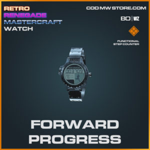 Forward Progress watch in Black Ops Cold War and Warzone