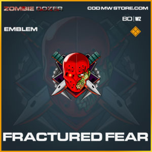 Fractured Fear emblem in Black Ops Cold War and Warzone