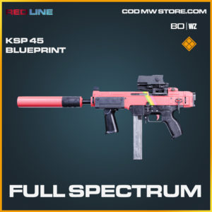 Full Spectrum KSP 45 blueprint skin in COld War and Warzone