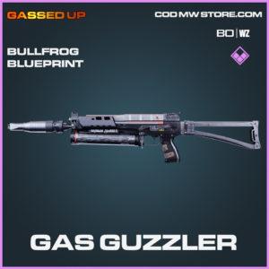 Gas Guzzler Bullfrog blueprint skin Black Ops Cold War and Warzone