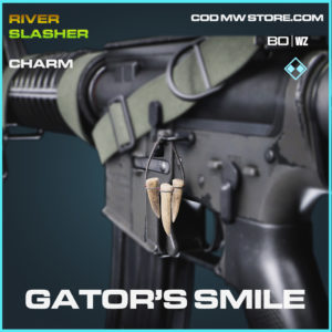 Gator's Smile charm in Cold War and Warzone