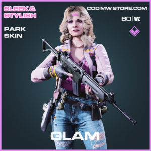 Glam Park skin in Cold War and Warzone