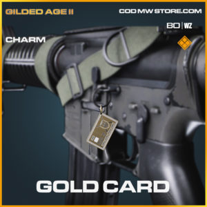 gold card charm in Cold War and Warzone