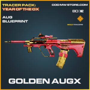 Golden Augx blueprint skin in Black Ops Cold War and Warzone