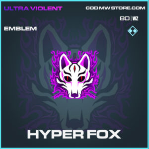 Hyper Fox emblem in Black Ops Cold War and Warzone
