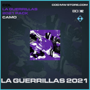 LA Guerrillas 2021 camo in Black Ops Cold War and Warzone