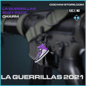 LA Guerrilas 2021 charm in Black Ops Cold War and Warzone