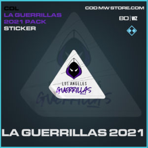 LA Guerrillas 2021 sticker in Black Ops Cold War and Warzone