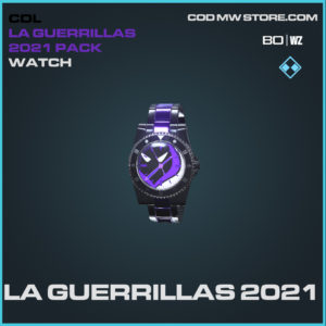 LA Guerrillas 2021 watch in Black Ops Cold War and Warzone