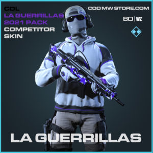 LA Guerrillas Alternate comeptitor skin in Black Ops Cold War and Warzone