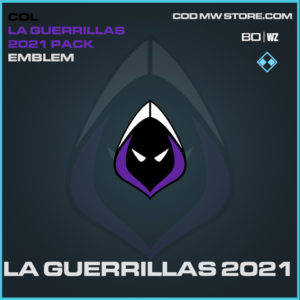 LA Guerrillas 2021 emblem in Black Ops Cold War and Warzone