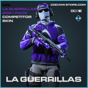 La Guerrillas Primary Competitor Skin in Black Ops Cold War and Warzone