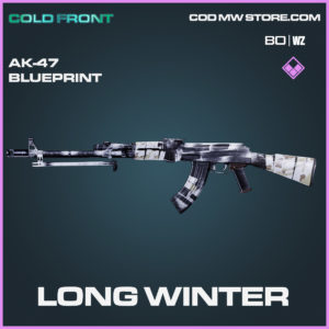 Long Winter Ak-47 Blueprint in Black Ops Cold War and Warzone