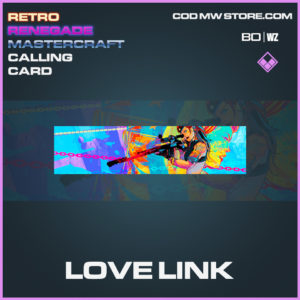 Love Link calling card in Black Ops Cold War and Warzone