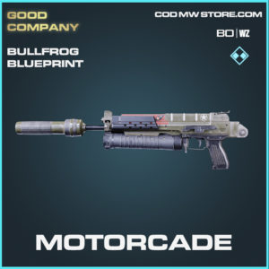 Motorcade bullfrog blueprint skin black ops cold war and warzone