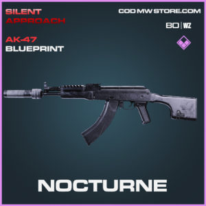 Nocturne AK-47 blueprint skin in Cold War and Warzone