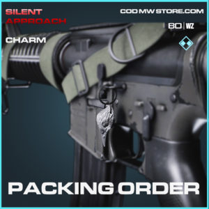 Packing Order charm in Cold War and Warzone