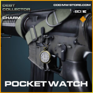 Pocket Watch charm in Black ops cold war and warzone